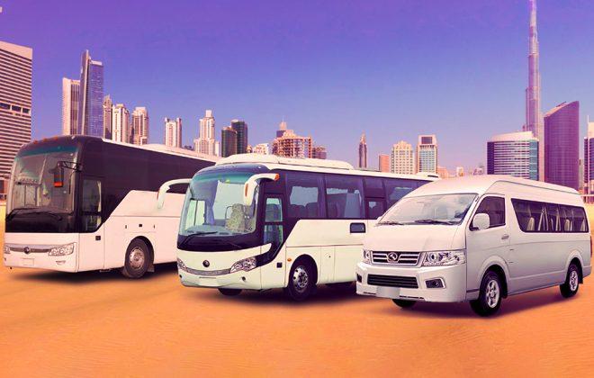 Bus transportion UAE