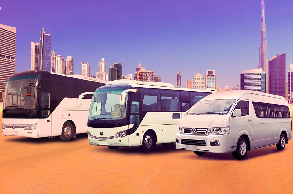 Bus transportion UAE