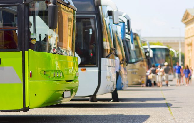 leading bus rental