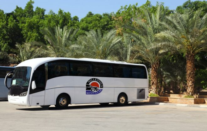 right bus rental company in Dubai